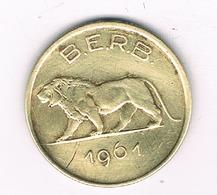 1 FRANC 1961 RWANDA & BURUNDI /9147/ - Rwanda