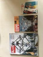 Revues Et Catalogue Liés à L'Expo 58 - Kranten
