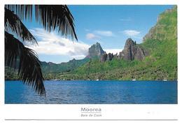 Polynésie Française-Baie De Cook à MOOREA  (photo Renaudeau Tahiti)TIMBRE STAMP POLYNESIE FRANCAISE Ecole Centrale - Polynésie Française
