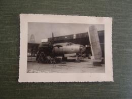 Photo Ancienne Aviation Avion à Identfier Peut être à Rochefort - Aviation
