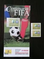 ESPANA 2004 - SPAIN - CENTENARIO DE LA FIFA 100 ANOS - 2001-10 Unused Stamps
