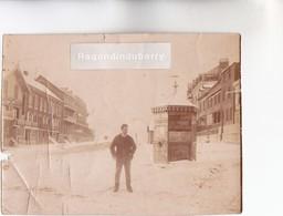 PHOTO - 62 - BERCK-PLAGE (P.C) - L' ENTONNOIR En 1905 Sous La Neige - Petite Photo Originale De 11cm Sur 8 - RARE - - Lieux