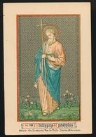 H.PRENTJE STEENDRUK  ST. PHILIPPUS APOSTOLUS - Andachtsbilder