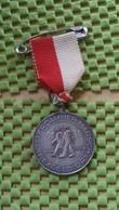 """Medaille :Netherlands  -  """"Rotterdammer Marsch Excelsior"""" Delft 20-35 Km   / Vintage Medal - Walking Association - Nederland"""
