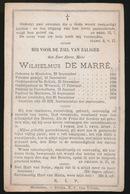 PASTOOR MALDEREN - WILHELMUS DE MARRE - MECHELEN 1801 - MALDEREN 1883 - Décès