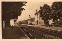41. CPA. BOURRE. La Gare. - Other Municipalities