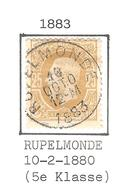 REF67/ TP 32 C.Rupelmonde 10/10/1883 - 1869-1883 Leopold II