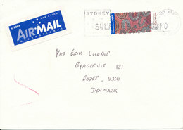 Australia Cover Sent Air Mail To Denmark 10-11-2003 Single Franked - 2000-09 Elizabeth II