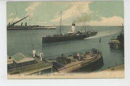 """BATEAUX - DOVER - Arrival Of S.S. """"PAS DE CALAIS """" - Steamers"""