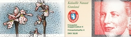 +Q534. Greenland 1996. Fourth Booklet Complete. MH 4. MNH(**) - Carnet