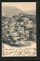 AK Boudry, Ortspartie Mit Häusern - NE Neuchâtel