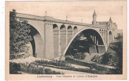 L-2311   LUXEMBOURG : Pont Aldolphe Et Caisse D'Epargne - Luxemburg - Stad