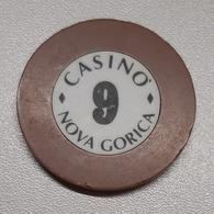 TOKEN JETON SLOVENIA  CASINO Nova Gorica 9 - Casino