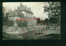AK Royaucourt-et-Chailvet, Schloss Chailvet, Deutsche Soldaten 1917, Ungelaufen - France