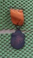 Medaille :Netherlands  -  Dagblad Trouw - ( 12-5-1952 Met Stift )  / Vintage Medal - Walking Association - Nederland
