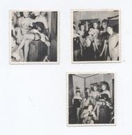 4 PHOTOS DE FRENCH CANCAN     --- -Z53 - Nus Artistiques (1960-…)