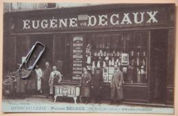 CPA 59 NORD VALENCIENNES DEVANTURE COMMERCE QUINCAILLERIE PUBLICITE AVIS DE PASSAGE - Valenciennes