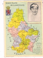 L-2320   MAPCARD Of LUXEMBOURG  With S.A.R. La G-D Charlotte - Clervaux