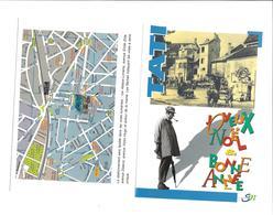 Carte Meilleurs Voeux 1996 De La Ville De SAINT-MAUR-DES-FOSSES (94) Place Jacques TATI Cinéaste - Saint Maur Des Fosses