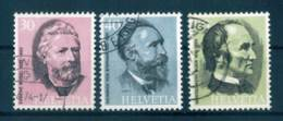 1974, Switzerland Complete Set, Used, Michel Cat. No. 1024/1026, 0,20 Euro - Used Stamps