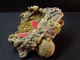 Tridymite, Ferri-Obertiite, Pseudobrookite, Schäferite (TL) (5 X 4 X 3 Cm )  Bellerberg - Ettringen - Eifel - Germany - Mineralen