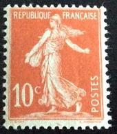 N° 134  NEUF ** SANS CHARNIÈRE ( LOT:28 ) - 1906-38 Semeuse Camée