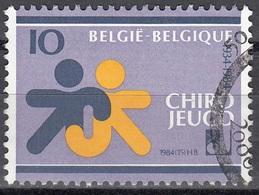 Belgique 1984 COB 2145 O Cote (2016) 0.35 Euro 50 Ans Chirojeugd Cachet Rond - Belgique