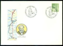 "Schweiz 1979 Brief Mit Spezialstempel ""Centenaire De La Mort De Louis Favre - Chêne-Bourg"" - Switzerland"
