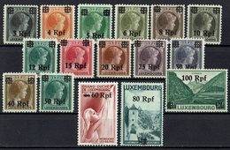 Luxemburg 1940 // Mi. 17/32 * - Occupation 1938-45