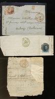 3 Morceaux De Lettres - Belgium