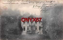 LANDELIES (Belgique-Hainaut) Château De M. Wilmart  Edition Laloyaux-Massceau Photo Lagouge, Thuin  VOIR 2 SCANS - Belgique