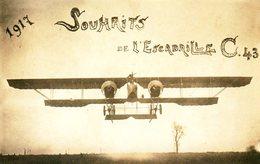 Guerre 14 18 : Décollage D'un Caudron G4 De L'escadrille C43 - War 1914-18