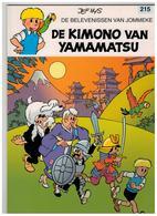 DE BELEVENISSEN VAN JOMMEKE JEF NYS  DE KIMONO VAN YAMAMATSU  215 - Jommeke