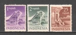 Indonesia 1949 Mi 33-34-38C MH (*) - Indonesië
