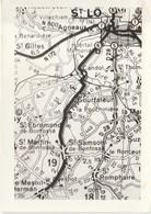 Photo Extrait Carte Routière Environs De St Lo (Format 7,5 Cm X 10,5 Cm) - Photos
