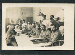 Carte Photo - Militaires, Blessés Et Infirmières - Weltkrieg 1914-18