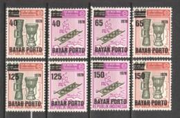 Indonesia 1978 Portomarken 64-A67 MNH - Indonesia