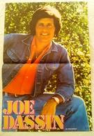 AFFICHE ORIGINALE CHANTEUR JOE DASSIN - CBS - THE MUSIC COMPANY - Manifesti & Poster