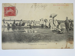 Cpa, Trés Belle Vue Animée, TOMBOUCTOU, La Grande Mare - Sudán