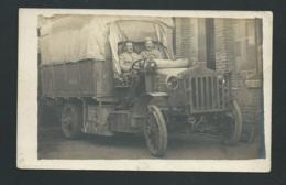 Cpa Photo - Camion De Transport - Non Ecrite Au Dos     Maca0197 - Guerre 1914-18