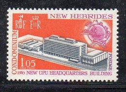 APR4444 - NUOVE EBRIDI 1970 , Yvert N. 293  ***  MNH (2380A) .  UPU - Nuovi