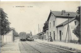 DOMPAIRE La Gare ( Trains) - Dompaire