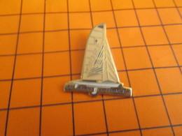 919 Pin's Pins / Beau Et Rare / Thème BATEAUX / VOILE VOILIER EN AVANT LA FRANCE COUPE DE L'AMERICA - Barcos