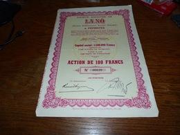 CB15-F3 Action Pepinster Société Anonyme Lano Anc Armand Follet - Aandelen