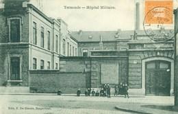 Termonde - Dendermonde - Hopital Militaire - Militair Hospitaal - 1913 - Dendermonde