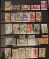 Petit LOT Timbres Afrique Equatoriale Française Cf Mes 2 Photos - Oblitérés / Neufs / Taxe / Poste Aérienne Stamps AEF - Autres