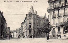 Nancy   Place De La Commanderie - Nancy