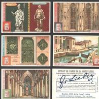 Liebig - Vintage Chromos - Series Of 6 / Série Complète - Le Dôme De Milan - Français - Milano - Liebig