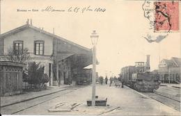 Mamers - La Gare - Train Locomotive - Gros Plan - Mamers