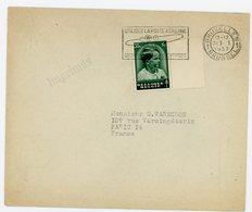 BELGIQUE ENV 1937 BRUXELLES TARIF IMPRIMES OMEC UTILISEZ LA POSTE AERIENNE  N°441 - 1830-1849 (Belgique Indépendante)